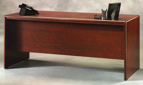 Warm Cherry Executive Desk Home Office Collection: Sauder Cornerstone Classic Cherry Executive Desk At Menards®