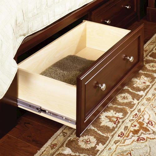 Sauder Palladia Select Cherry Queen Platform Bed At Menards 174