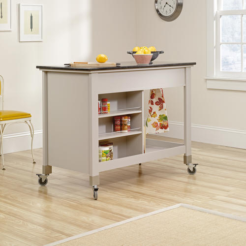 sauder original cottage cobblestone mobile kitchen island uhuru furniture amp collectibles sold mobile kitchen