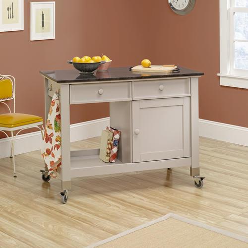 sauder original cottage cobblestone mobile kitchen island kitchen islands at menards kitchen best home and house