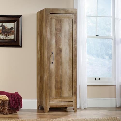 sauder adept storage collection narrow storage cabinet at menards