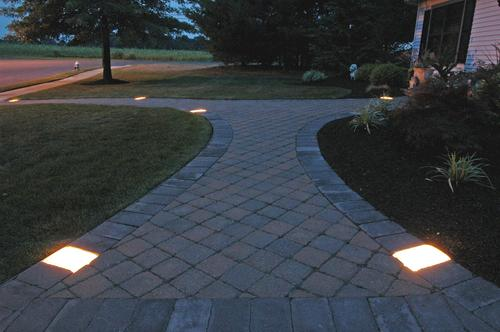 Low Voltage Paver Wall Lights : All Plumbing