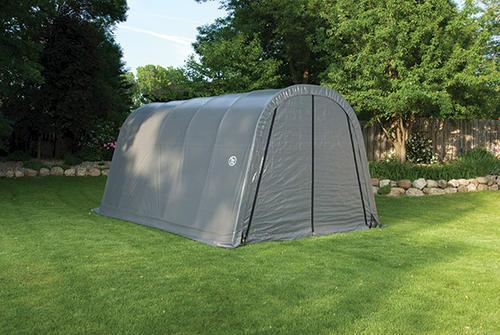 Fabric Carports And Shelters : Shelterlogic roundtop  instant shelter