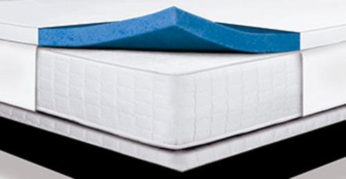 "Serta 1 1 2"" Thick Queen Sized Memory Foam Gel Mattress"