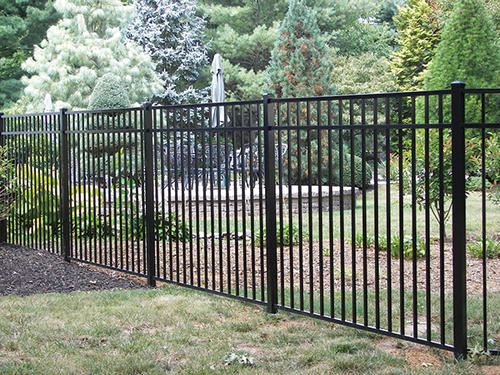 Ez Fence Asbury 4 39 6 X 6 39 3 Rail Aluminum Fence Panel At