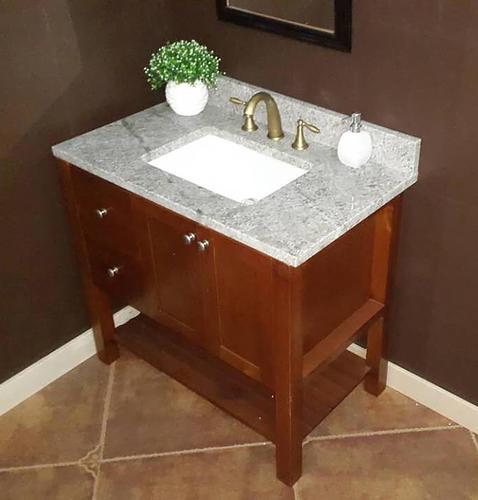 Menards Vanity Tops : Quot gray forest granite vanity top rectangle