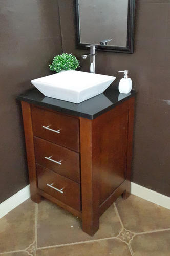 25 Quot X 22 Quot Absolute Black Tuscany Granite Vessel Top At