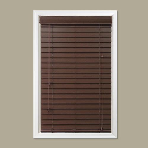 Window Images Faux Wood Blind 36 Quot X 72 Quot At Menards 174