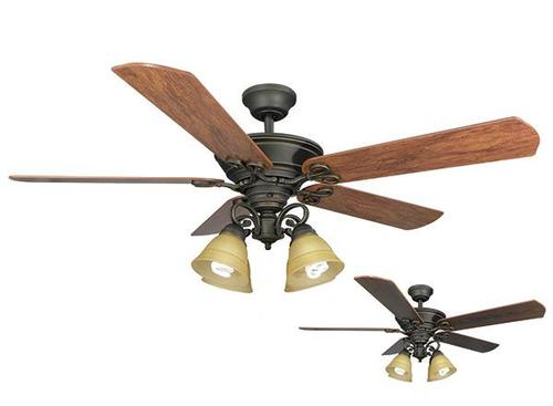Turn Of The Century 174 Viente 52 In Oil Rubbed Bronze