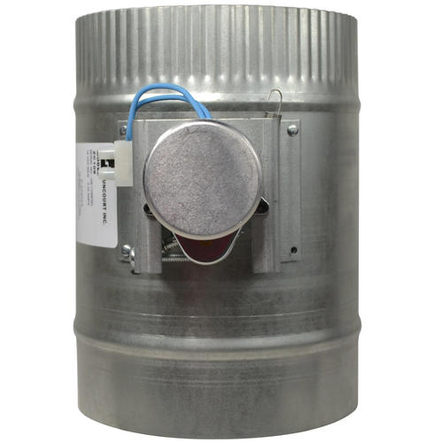Suncourt 6 in automated damper normally closed at menards Motorized duct damper