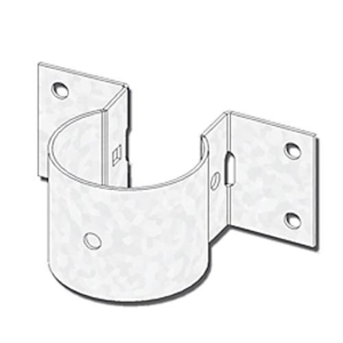 usp structural connectors 2 8 u0026quot  diameter triple zinc pipe rail tie at menards u00ae