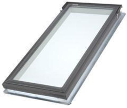 Velux fixed deck mount skylight at menards for How to clean velux skylights