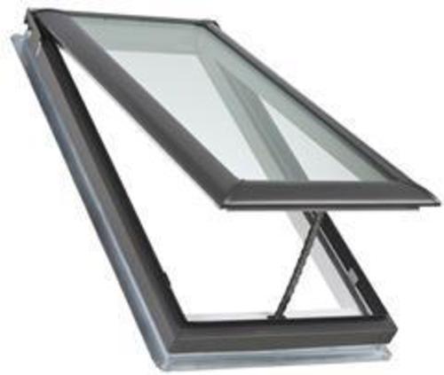 Velux vented deck mounted skylight at menards for Menards skylights