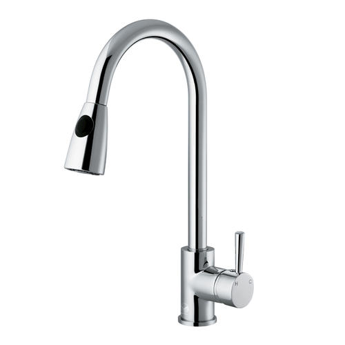 vigo chrome pull out spray kitchen faucet at menards 174