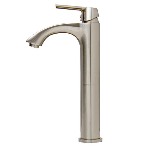 VIGO Linus Bathroom Vessel Faucet In Brushed Nickel At Menards