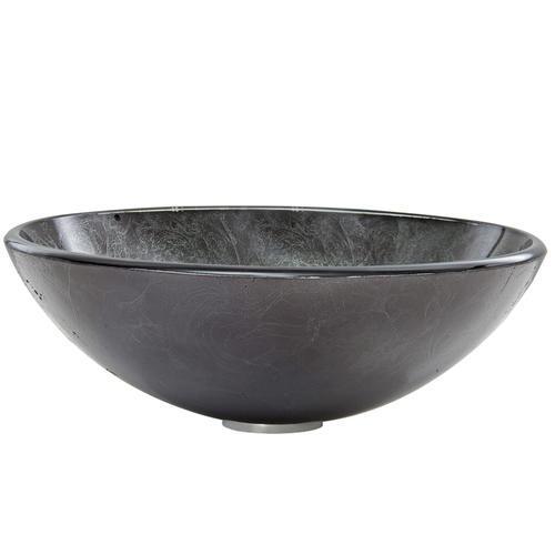 Vigo Gray Onyx Glass Vessel Bathroom Sink At Menards