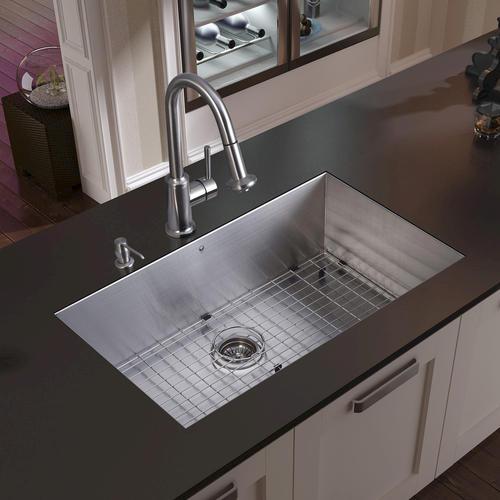 Menards Kitchen Sinks : ... Steel Undermount Kitchen Sink, Faucet & Accessories at Menards