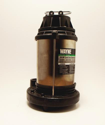 Sump Mail: 3/4 HP Stainless Steel Sump Pump At Menards®