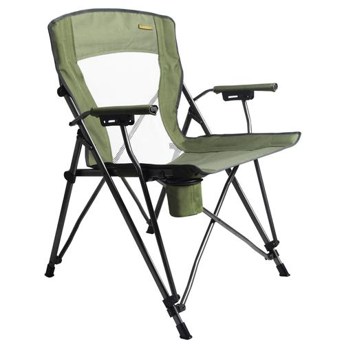 Guidesman™ Deluxe Mesh Back Quad Chair at Menards