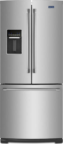 Maytag Cu Ft 30 Wide French Door Refrigerator At Menards