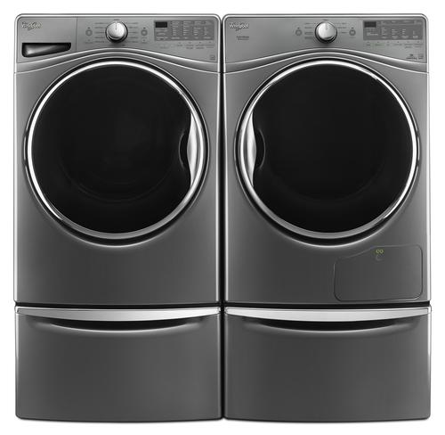 Whirlpool Duet 4 5 Cu Ft Front Load Steam Washer With Load