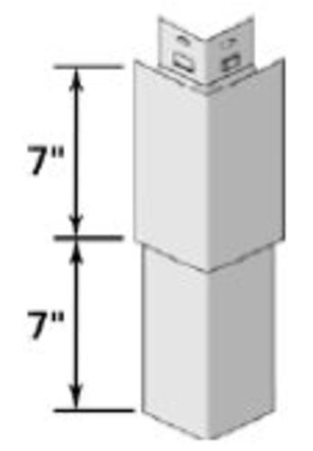 Cedar Impressions 174 D7 Quot Straight Edge Rough Split Mitered