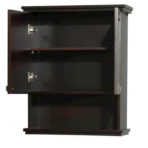 Wyndham collection acclaim 25 wall cabinet at menards for Wyndham bathroom wall cabinet