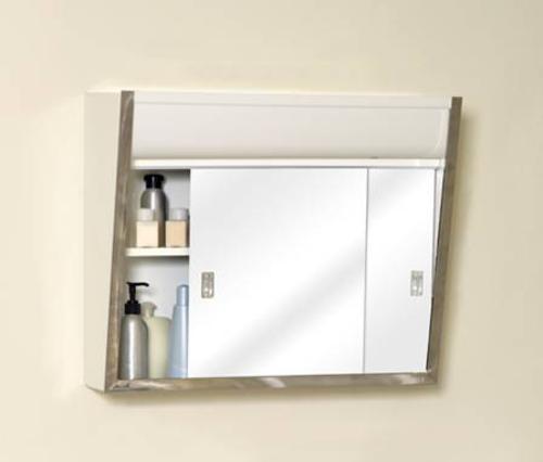 Zenith Chrome Framed Slider Medicine Cabinet At Menards