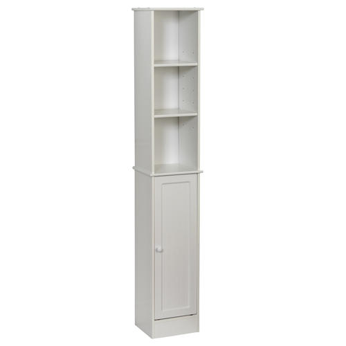 tuscany bethany linen tower cabinet white at menards