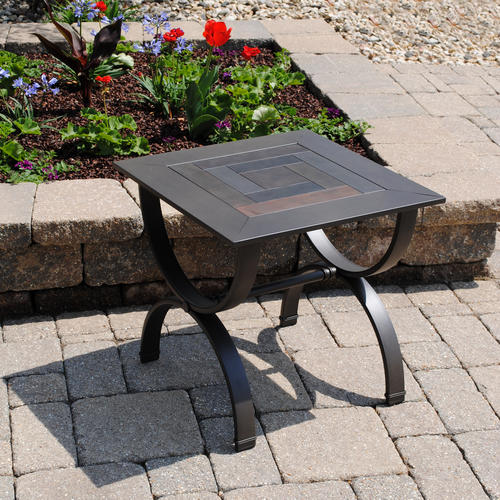 Backyard Creations Indoor Outdoor Side Table at Menards