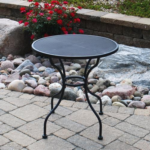 Backyard Creations Wrought Iron Cafe Table at Menards