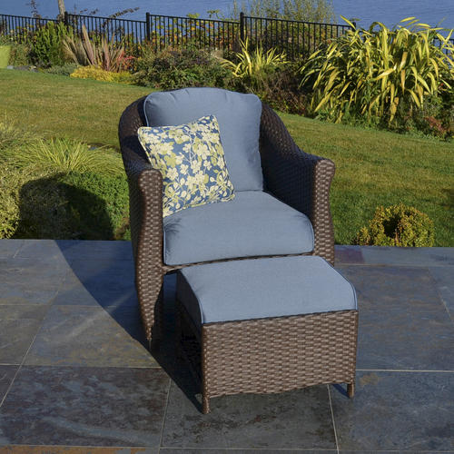 26 Wonderful Patio Chairs With Slide Under Ottomans
