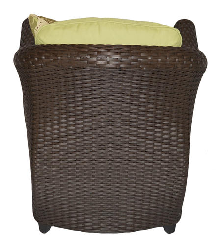 Sterling Home & Patio Etta Woven Patio Chair With Hidden