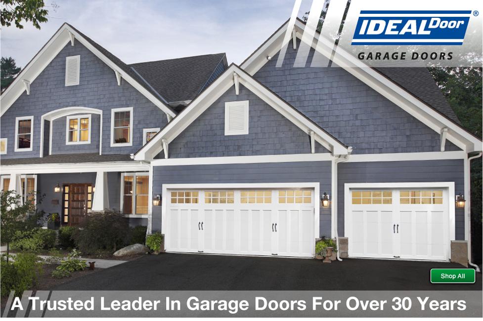 Ideal door at menards for Ideal garage doors