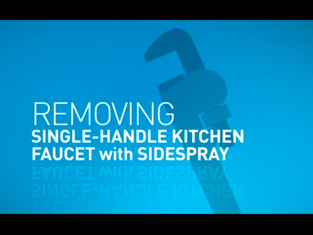 Removing moen kitchen faucets instructions for schedule se
