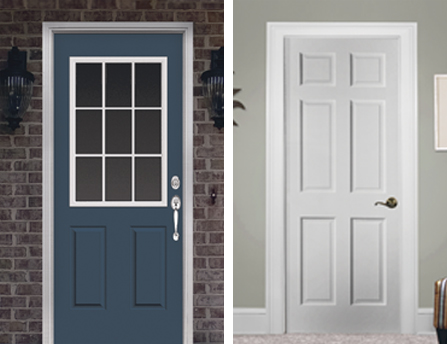 A guide to designing a custom door at menards for Mastercraft storm doors