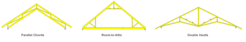 Truss vs rafter quotes for Prefabricated roof trusses